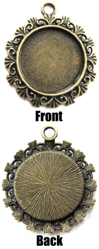 filigree brass